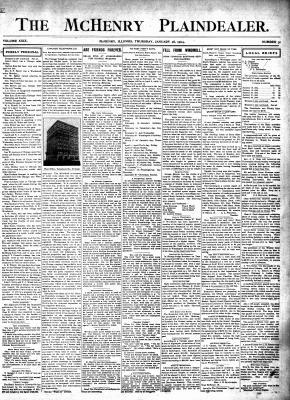 McHenry Plaindealer (McHenry, IL), 28 Jan 1904