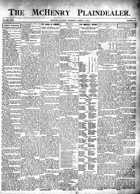 McHenry Plaindealer (McHenry, IL), 17 Mar 1904