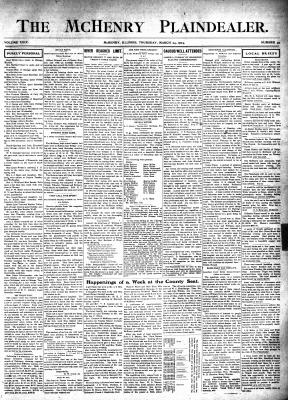 McHenry Plaindealer (McHenry, IL), 24 Mar 1904