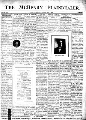 McHenry Plaindealer (McHenry, IL), 2 Jun 1904
