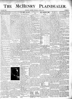 McHenry Plaindealer (McHenry, IL), 9 Jun 1904