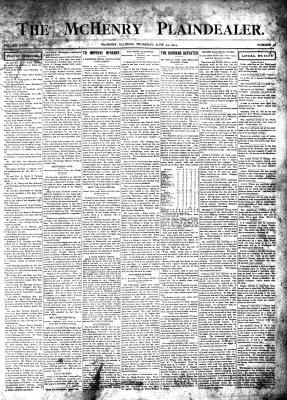 McHenry Plaindealer (McHenry, IL), 23 Jun 1904