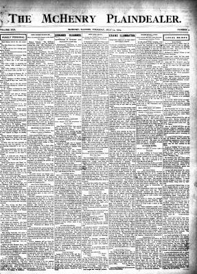 McHenry Plaindealer (McHenry, IL), 14 Jul 1904