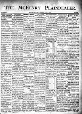 McHenry Plaindealer (McHenry, IL), 21 Jul 1904