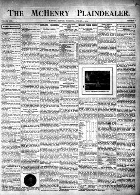 McHenry Plaindealer (McHenry, IL), 4 Aug 1904