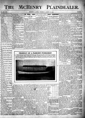 McHenry Plaindealer (McHenry, IL), 18 Aug 1904