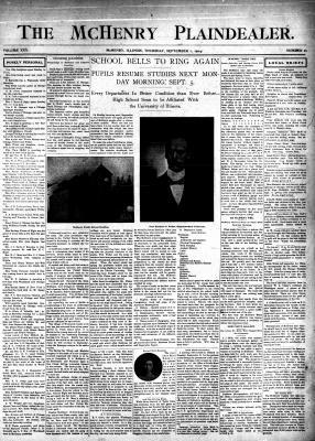 McHenry Plaindealer (McHenry, IL), 1 Sep 1904