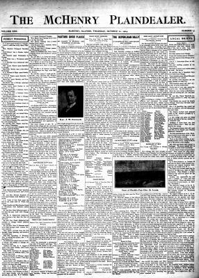 McHenry Plaindealer (McHenry, IL), 20 Oct 1904