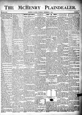 McHenry Plaindealer (McHenry, IL), 8 Dec 1904