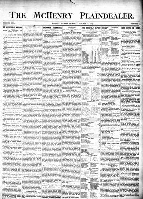 McHenry Plaindealer (McHenry, IL), 12 Jan 1905