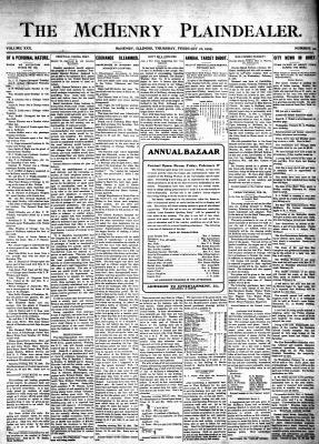 McHenry Plaindealer (McHenry, IL), 16 Feb 1905