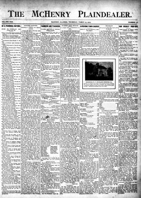 McHenry Plaindealer (McHenry, IL), 23 Mar 1905