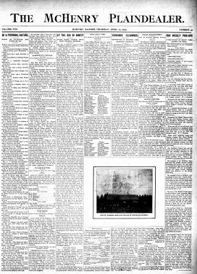 McHenry Plaindealer (McHenry, IL), 20 Apr 1905