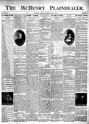 McHenry Plaindealer (McHenry, IL), 4 May 1905