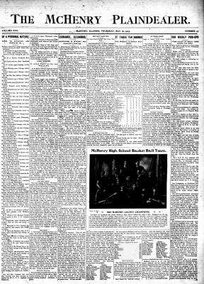 McHenry Plaindealer (McHenry, IL), 18 May 1905