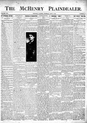 McHenry Plaindealer (McHenry, IL), 1 Jun 1905