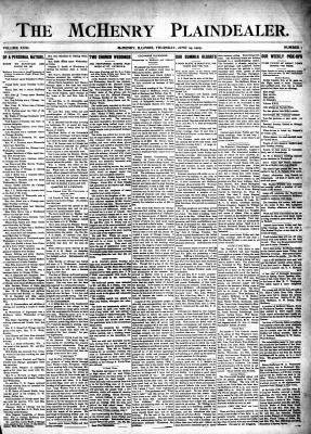 McHenry Plaindealer (McHenry, IL), 29 Jun 1905