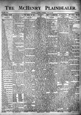 McHenry Plaindealer (McHenry, IL), 27 Jul 1905