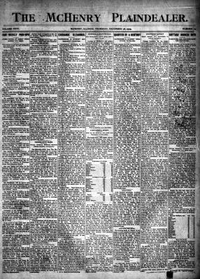 McHenry Plaindealer (McHenry, IL), 28 Dec 1905
