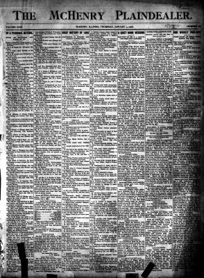 McHenry Plaindealer (McHenry, IL), 4 Jan 1906