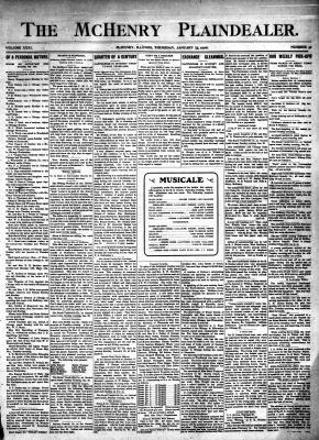 McHenry Plaindealer (McHenry, IL), 25 Jan 1906
