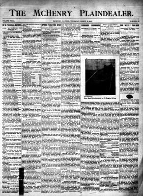 McHenry Plaindealer (McHenry, IL), 8 Mar 1906