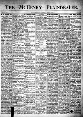 McHenry Plaindealer (McHenry, IL), 22 Mar 1906