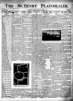 McHenry Plaindealer (McHenry, IL), 5 Apr 1906