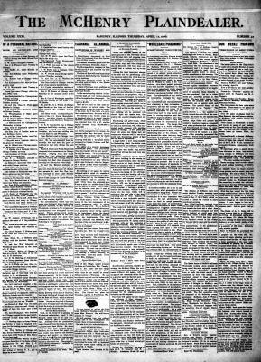 McHenry Plaindealer (McHenry, IL), 12 Apr 1906