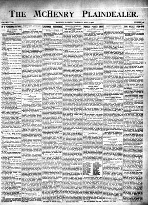 McHenry Plaindealer (McHenry, IL), 3 May 1906
