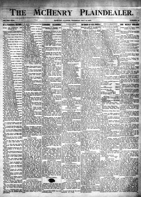 McHenry Plaindealer (McHenry, IL), 10 May 1906