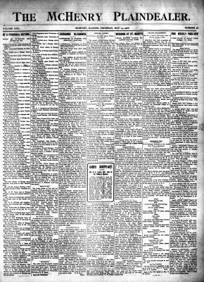 McHenry Plaindealer (McHenry, IL), 24 May 1906