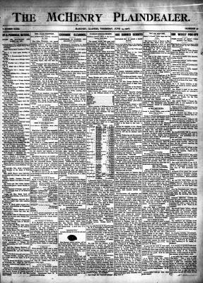 McHenry Plaindealer (McHenry, IL), 14 Jun 1906