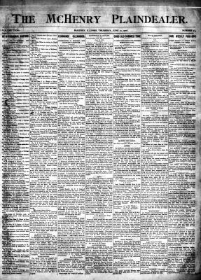 McHenry Plaindealer (McHenry, IL), 21 Jun 1906