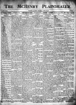 McHenry Plaindealer (McHenry, IL), 28 Jun 1906