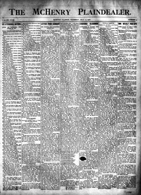 McHenry Plaindealer (McHenry, IL), 12 Jul 1906
