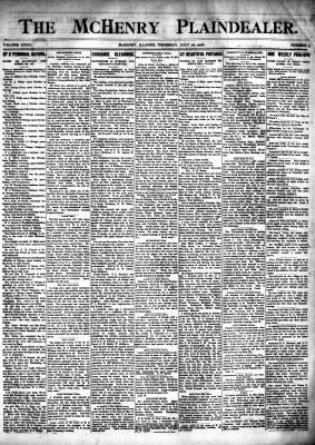 McHenry Plaindealer (McHenry, IL), 26 Jul 1906