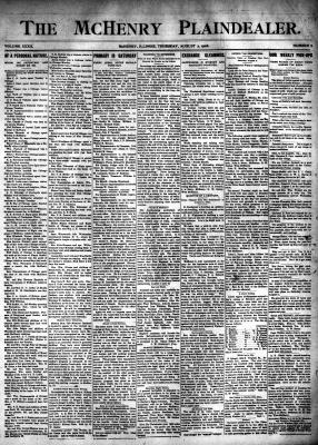 McHenry Plaindealer (McHenry, IL), 2 Aug 1906