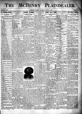 McHenry Plaindealer (McHenry, IL), 9 Aug 1906