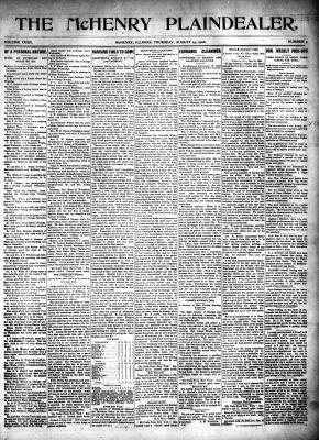 McHenry Plaindealer (McHenry, IL), 23 Aug 1906