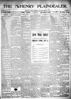McHenry Plaindealer (McHenry, IL), 13 Sep 1906