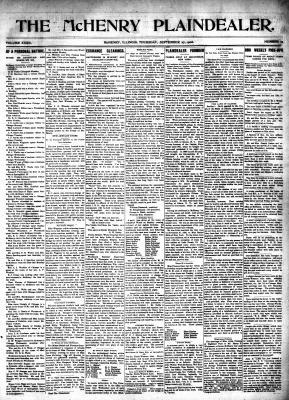 McHenry Plaindealer (McHenry, IL), 27 Sep 1906
