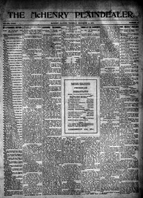 McHenry Plaindealer (McHenry, IL), 20 Dec 1906