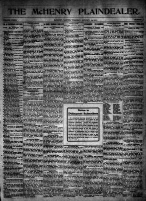 McHenry Plaindealer (McHenry, IL), 24 Jan 1907