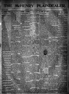McHenry Plaindealer (McHenry, IL), 31 Jan 1907