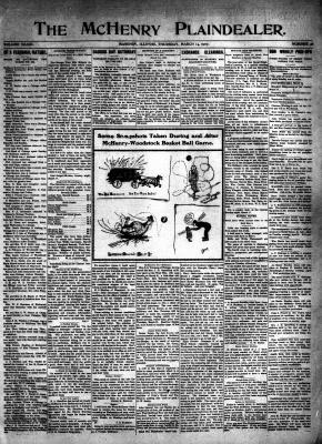 McHenry Plaindealer (McHenry, IL), 14 Mar 1907