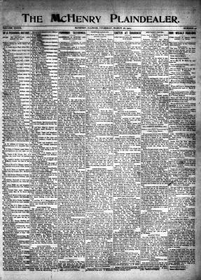 McHenry Plaindealer (McHenry, IL), 28 Mar 1907