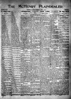 McHenry Plaindealer (McHenry, IL), 4 Apr 1907