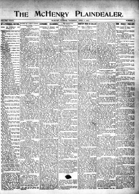 McHenry Plaindealer (McHenry, IL), 11 Apr 1907