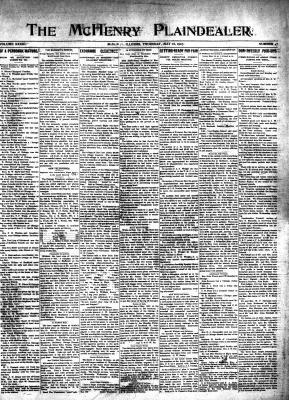 McHenry Plaindealer (McHenry, IL), 16 May 1907